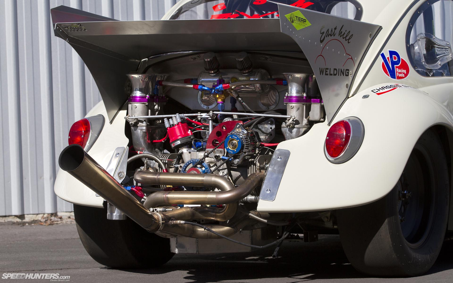 Volkswagen Bug Drag Race Racing Engine Engines Wallpaper