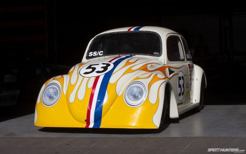 Volkswagen Bug drag race racing hot rod rods classic d wallpaper