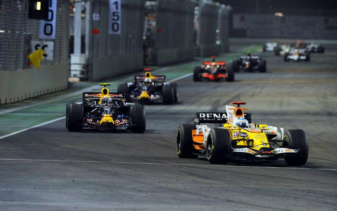 formula one formula-1 race racing f-1   rw wallpaper