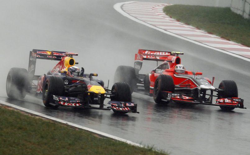 formula one formula-1 race racing f-1 rain wallpaper