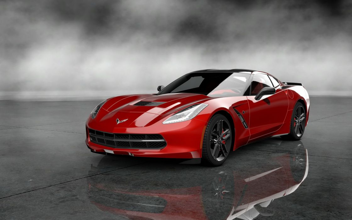 2014 corvette stingray muscle supercar supecars        g wallpaper