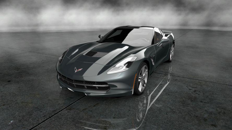 2014 corvette stingray muscle supercar supecars r wallpaper