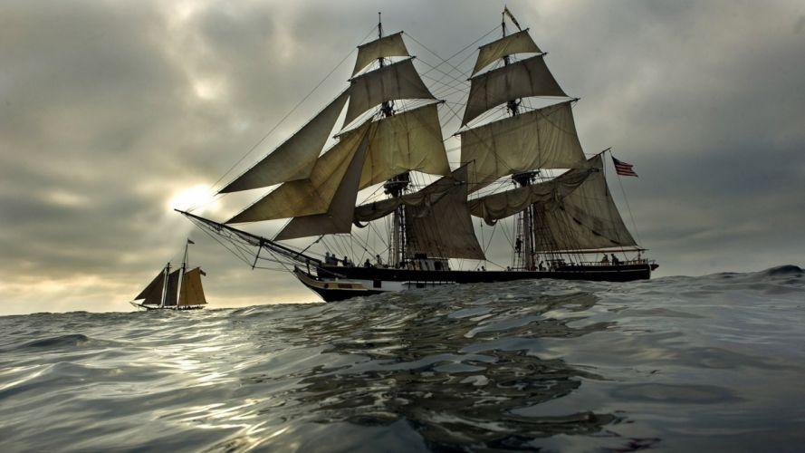 Sail Ship wallpaper