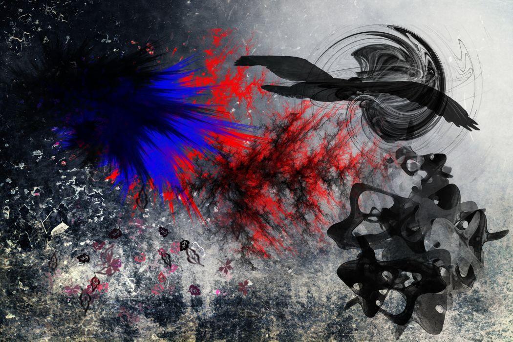 Abstraction 3D Graphics   d wallpaper