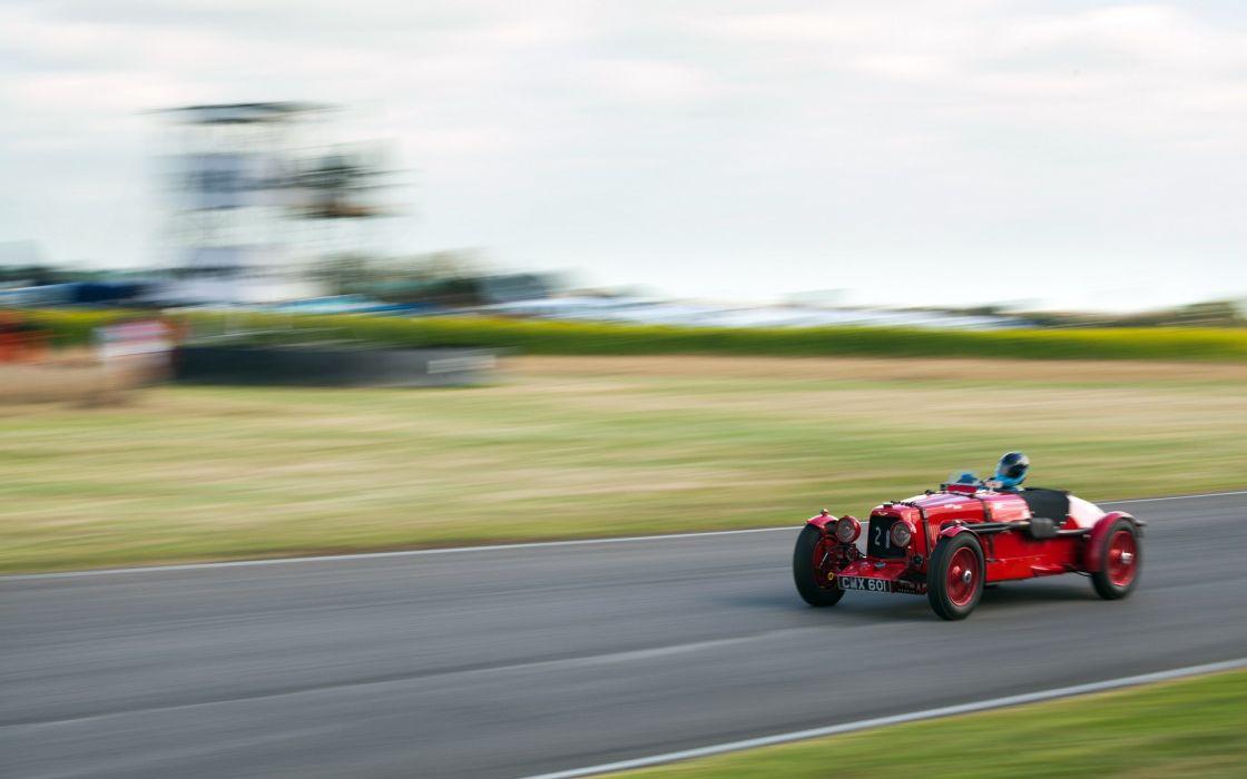 aston martin retro race racing wallpaper