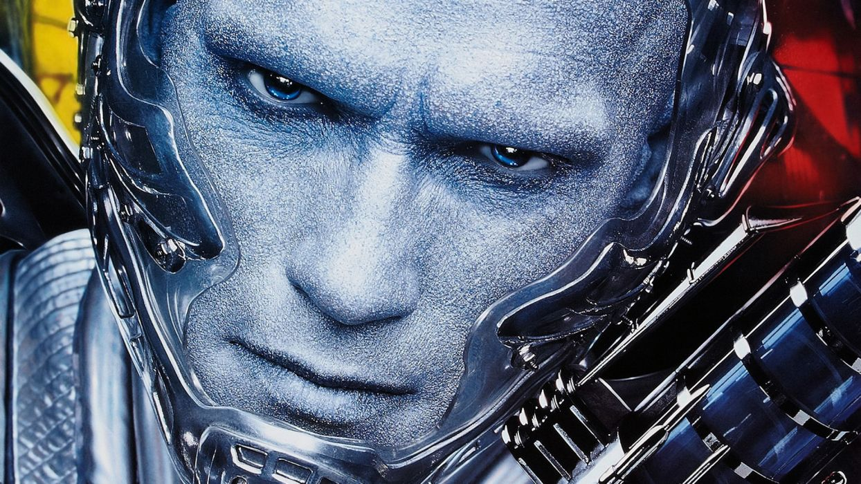Batman & Robin Arnold Schwarzenegger Men Face Glance Movies Celebrities wallpaper