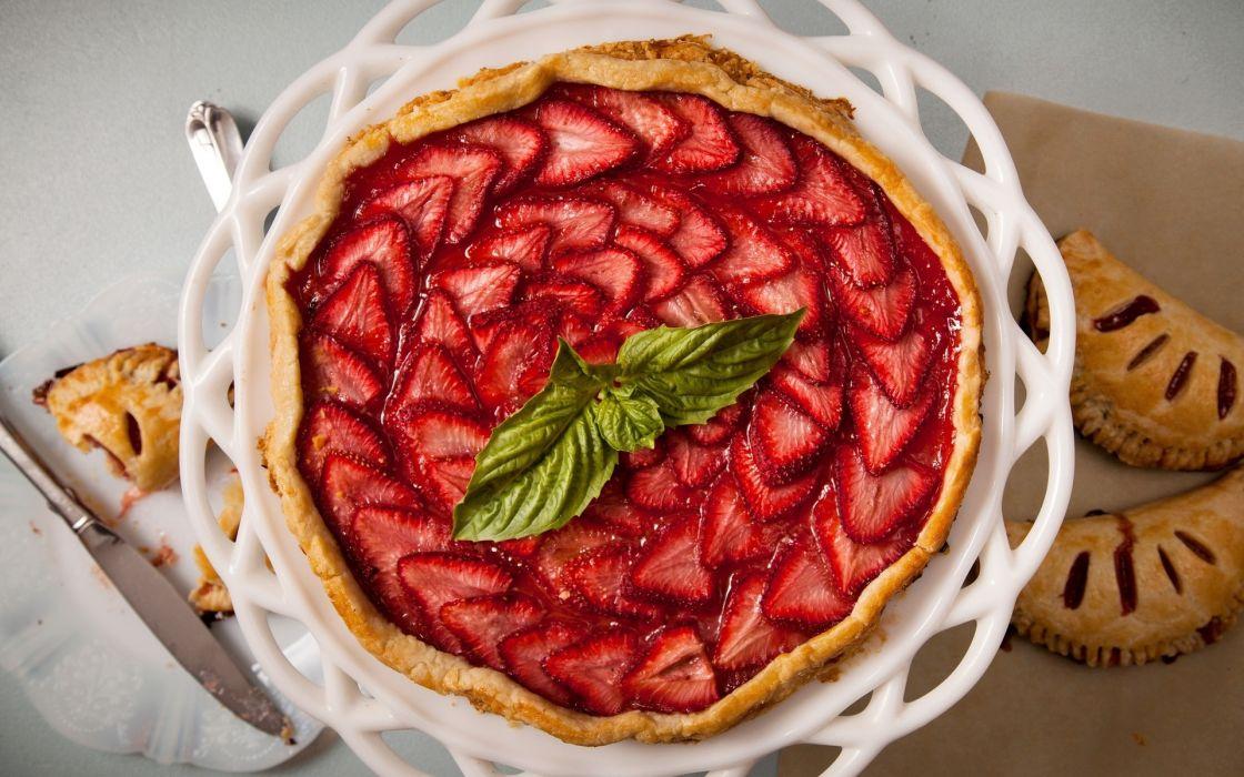 cake strawberries cakes wallpaper
