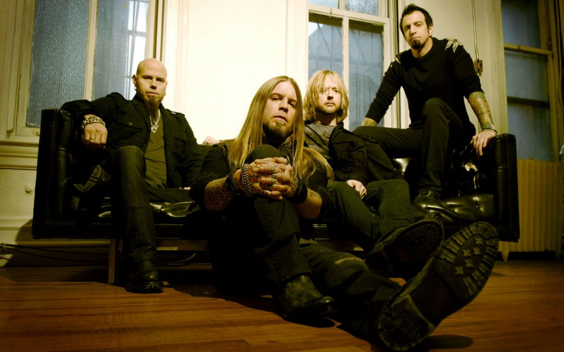 Drowning Pool band group men nu metal heavy metal wallpaper