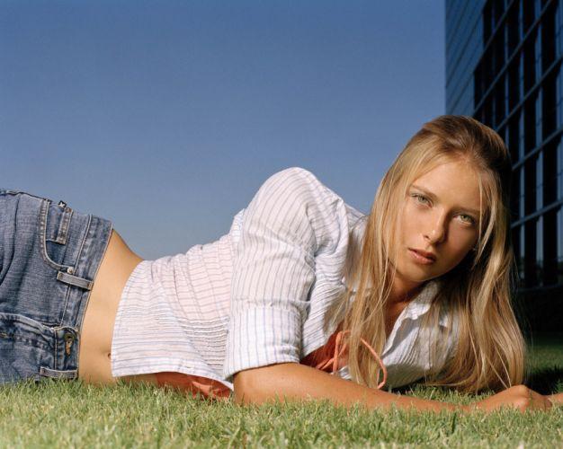 Maria Sharapova tennis sport sports blonde blondes women re wallpaper