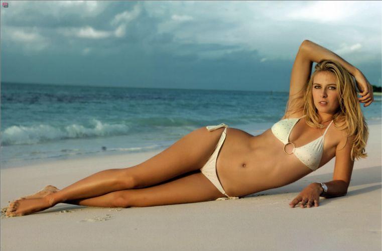 Maria Sharapova tennis sport sports blonde blondes women r wallpaper
