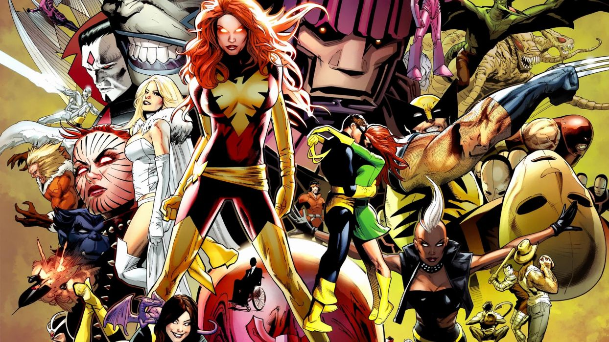 Marvel Phoenix X-Men wallpaper