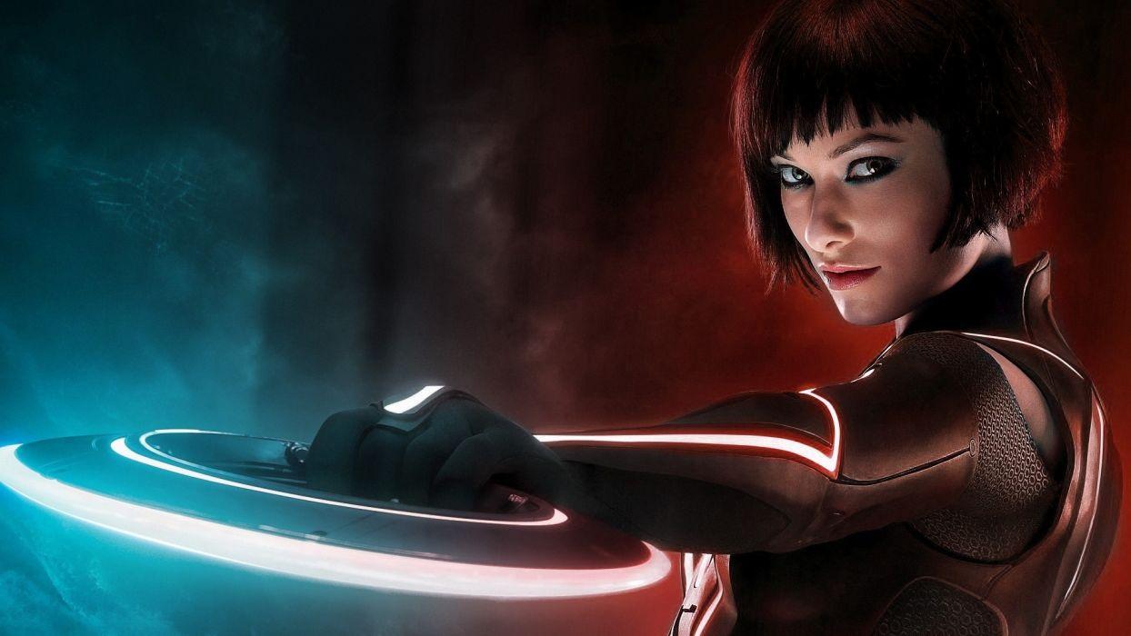Olivia Wilde actress women movies movie tron sci-fi wallpaper