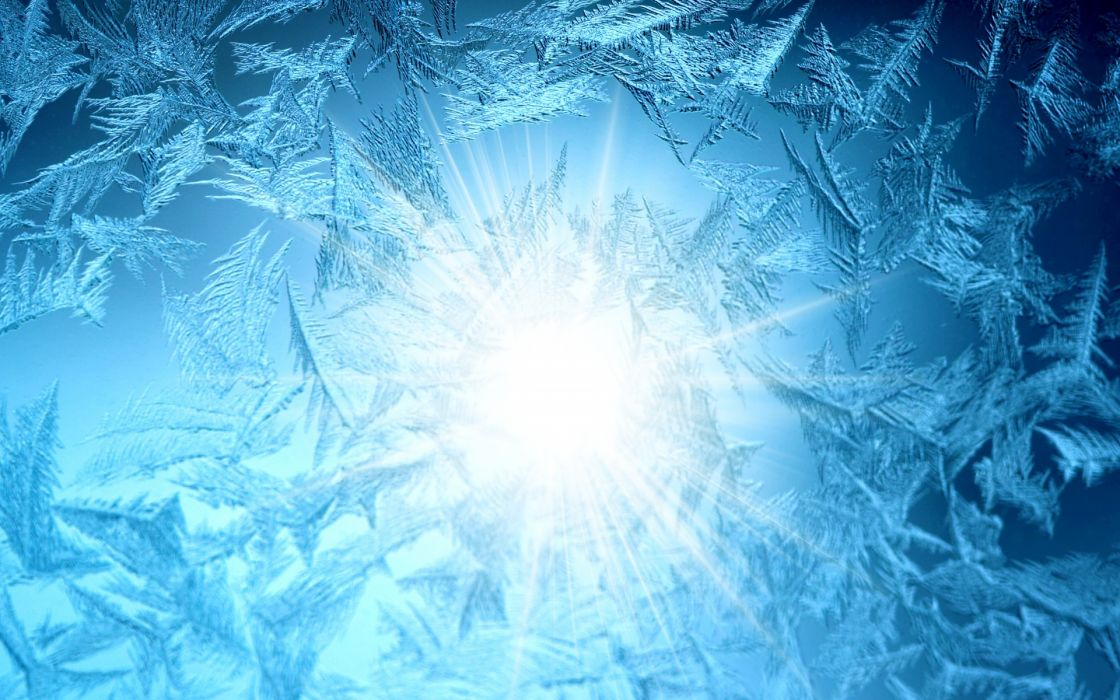 patterns frost glass sun bokeh wallpaper