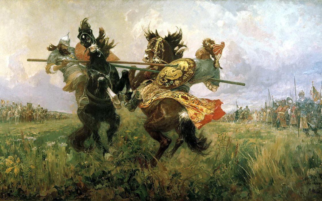 picture Kulikov battle duel wallpaper
