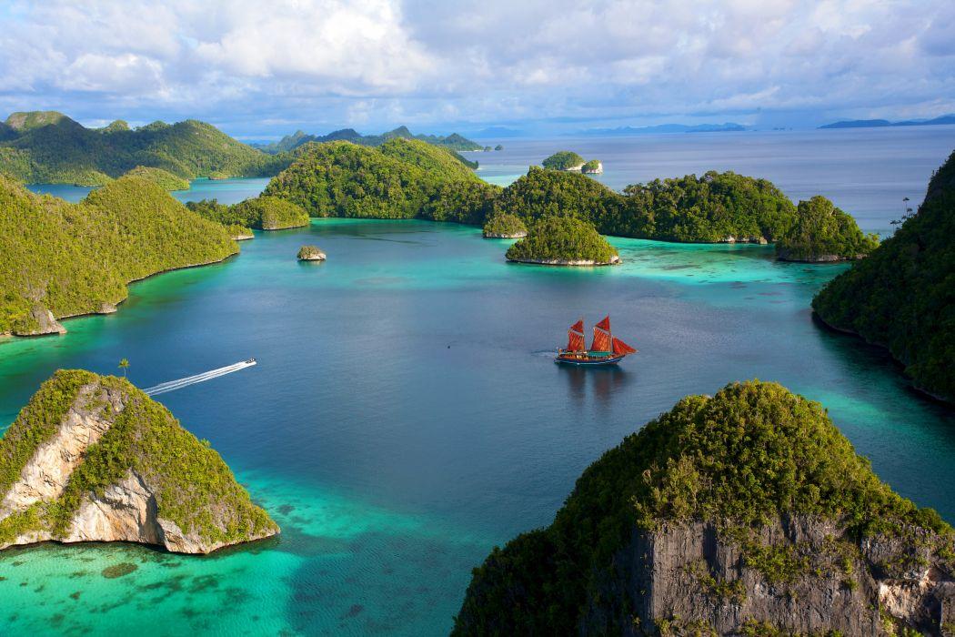 Scenery Indonesia Island Nature wallpaper