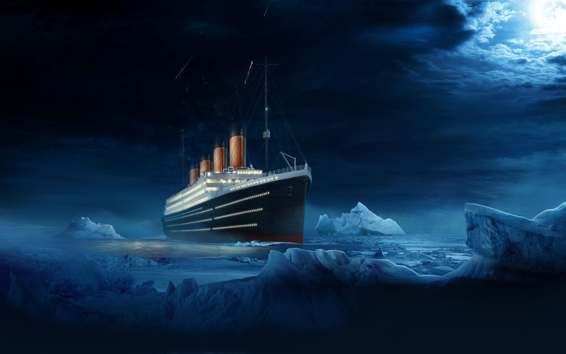Ship titanic ship titanic water night wallpaper | 1920x1200 | 97804 ...: www.wallpaperup.com/97804/ship_titanic_ship_titanic_water_night.html