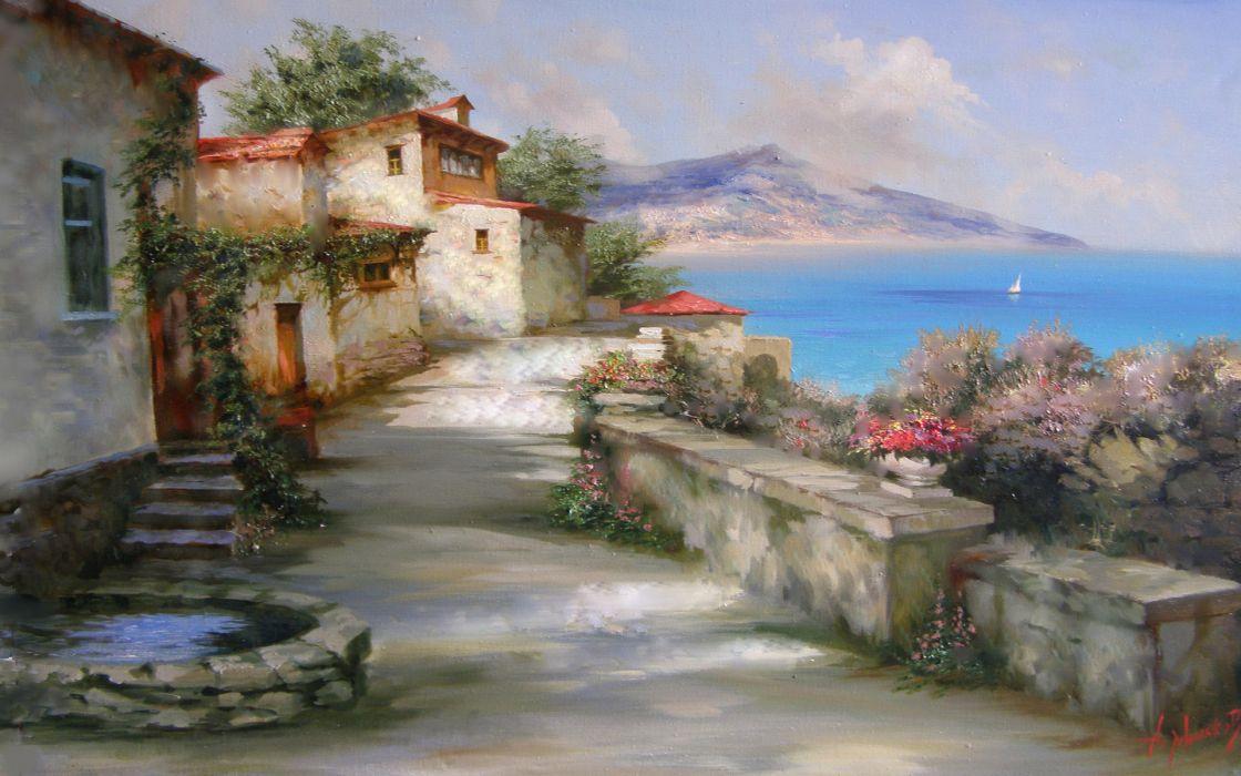 sun Gursuf Milukov alexander wallpaper