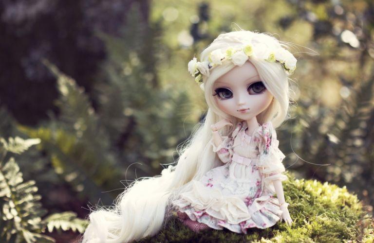 Toys Doll Blonde girl wallpaper