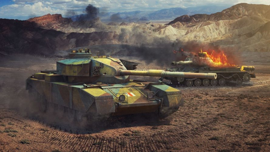 World of Tanks Tanks FV4202 IS-4 military wallpaper