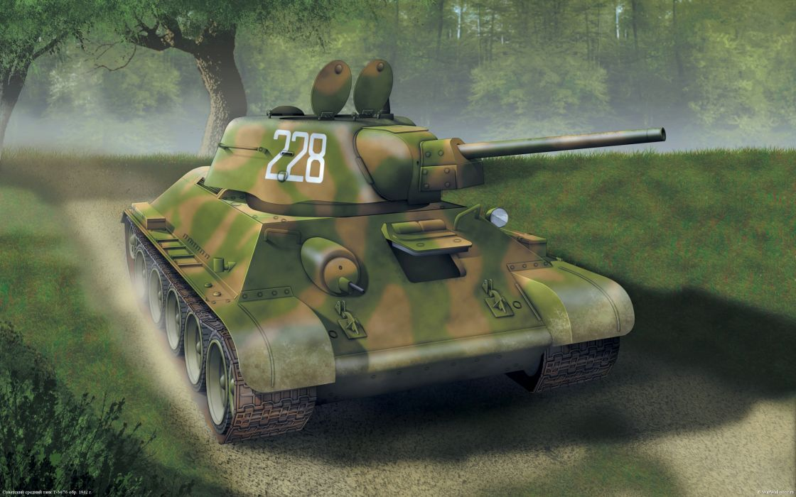 World of Tanks Tanks T-34-76 Games wallpaper