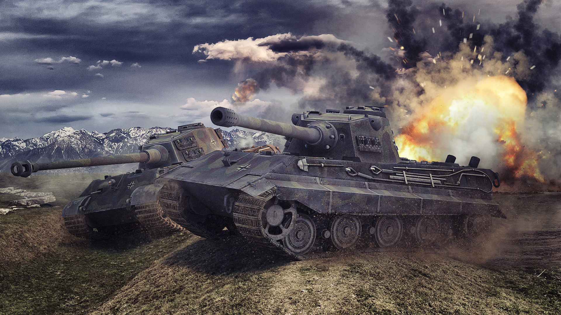world of tanks tanks tiger ii e 75 games military