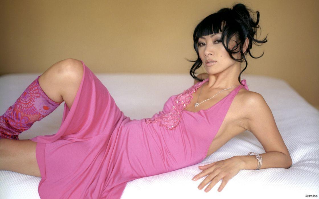 Bai Ling actress brunette women asian oriental     g wallpaper