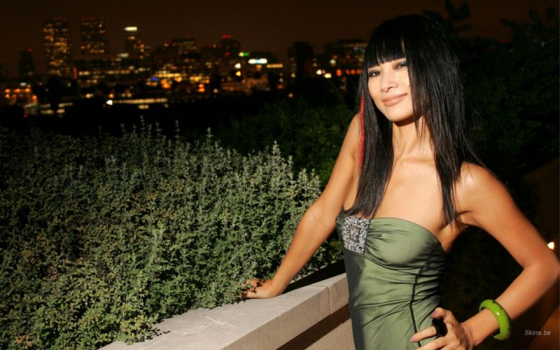 Bai Ling actress brunette women asian oriental r wallpaper