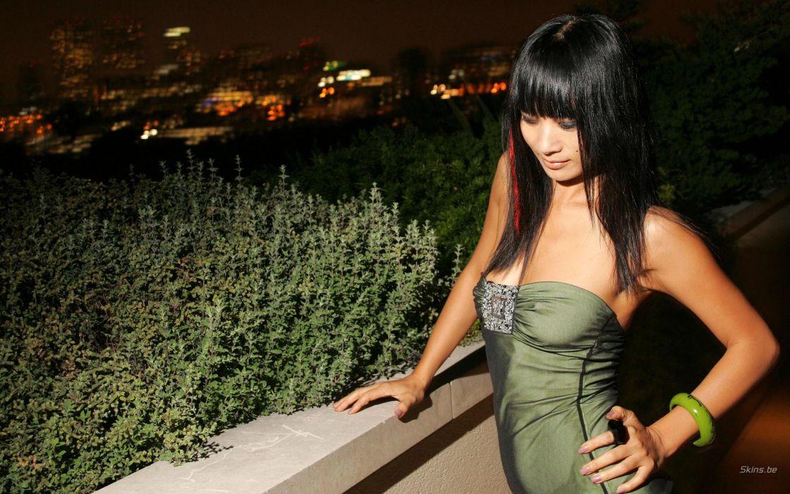 Bai Ling actress brunette women asian oriental t wallpaper