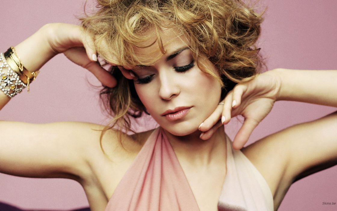 Carmen Electra actress model brunette women k wallpaper