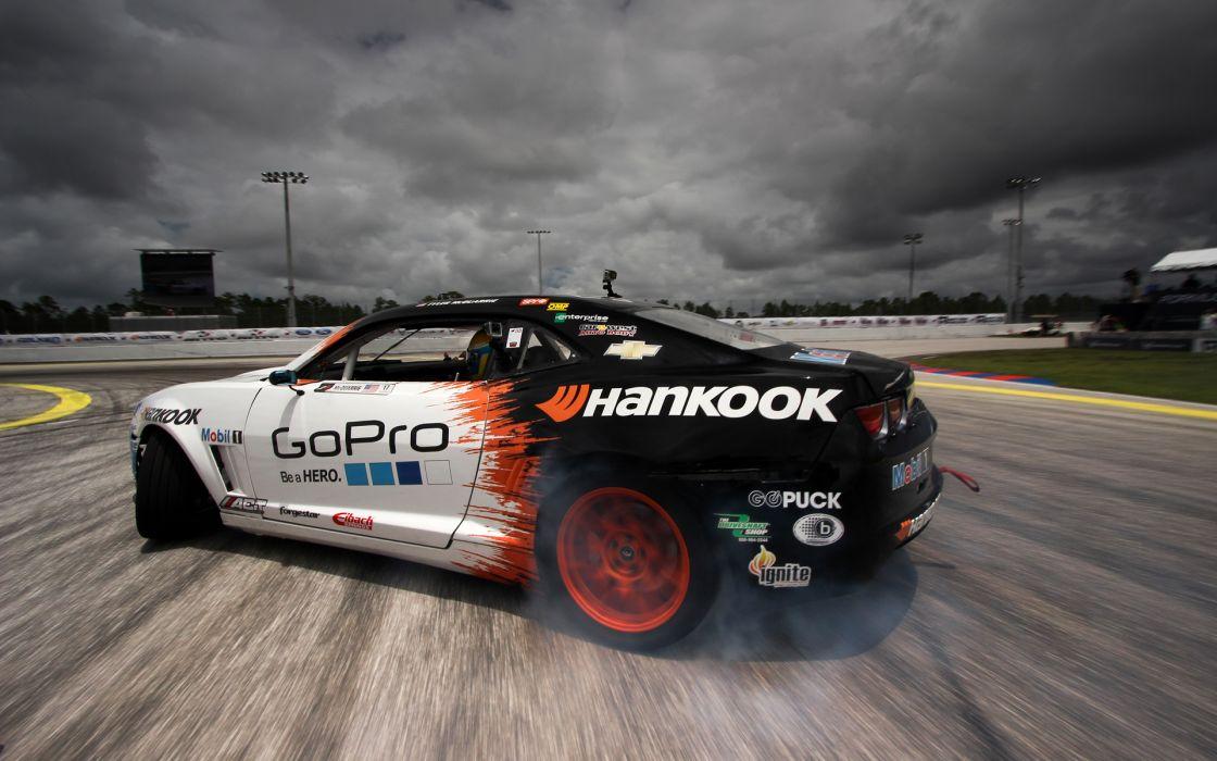 Chevrolet Camaro Drift Clouds race racing wallpaper