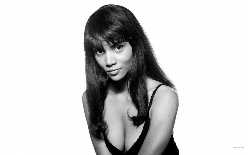 Halle Berry actress brunette women f wallpaper
