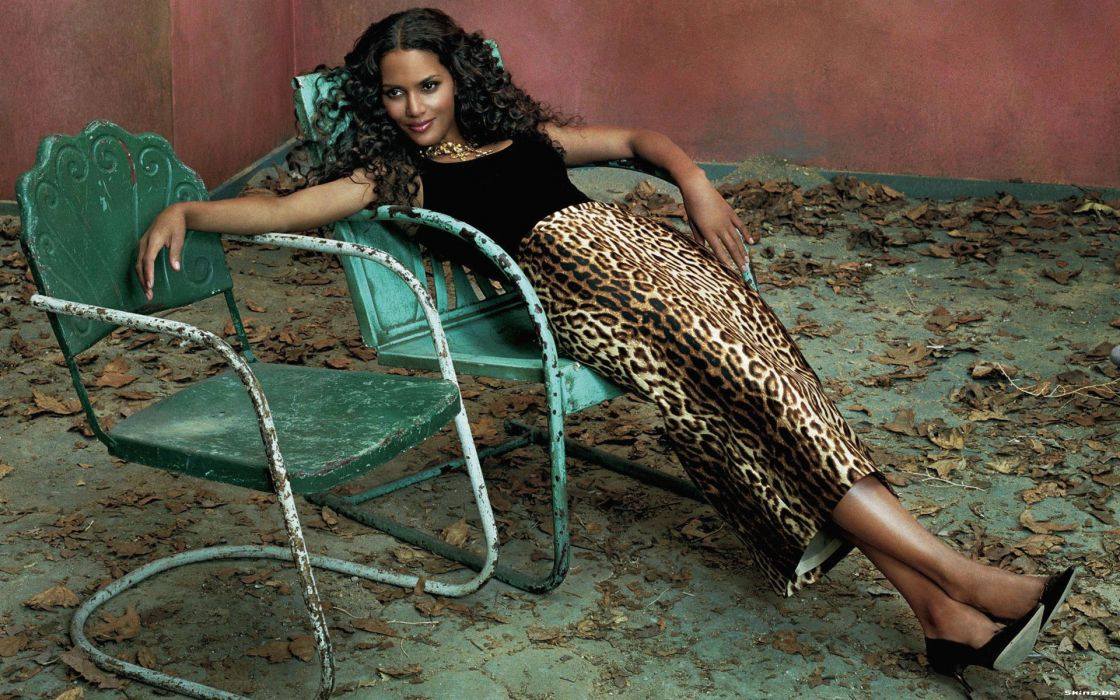 Halle Berry actress brunette women  e wallpaper