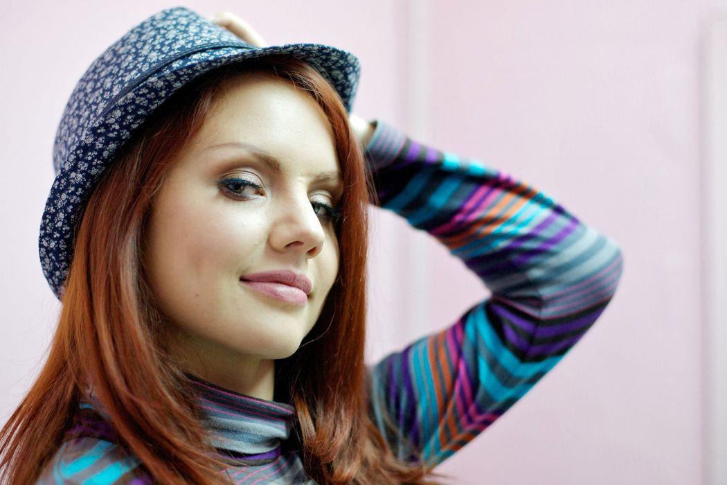 Maksim singer pop women female girl redhead wallpaper