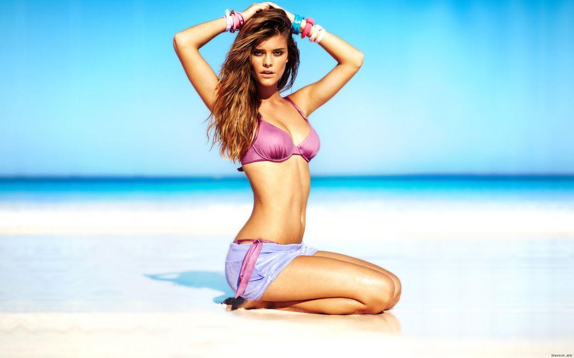 Nina Agdal Danish fashion model women   tt wallpaper