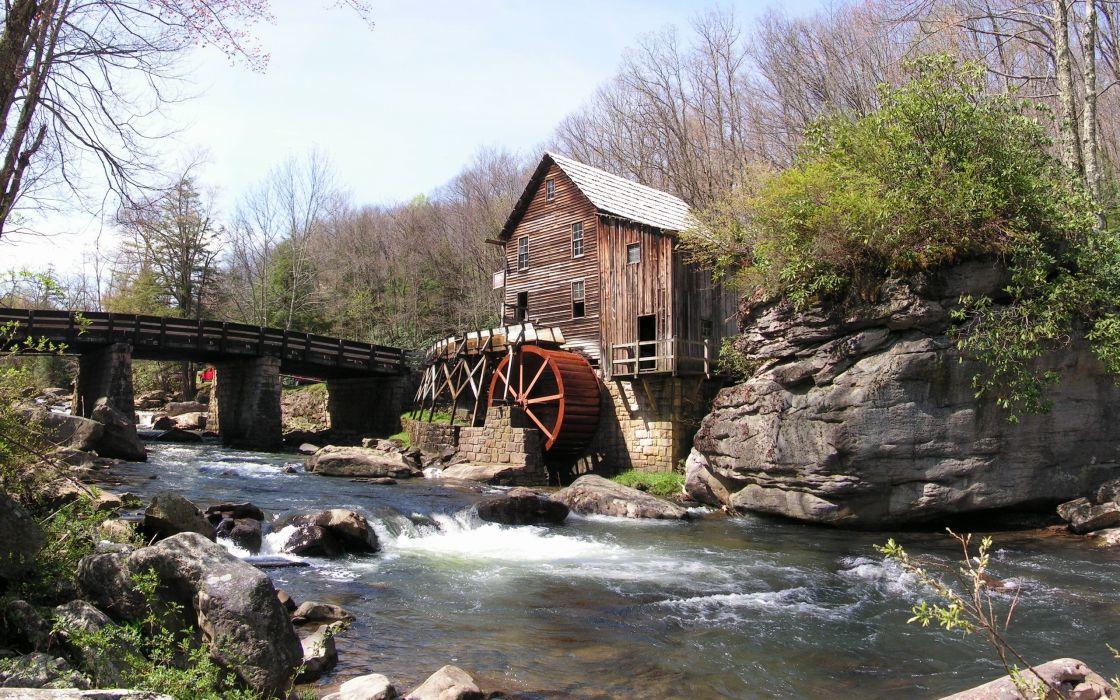 Water Mill wallpaper
