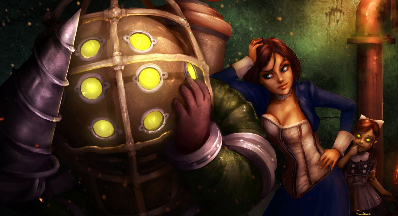 BioShock infinite Games Girls wallpaper