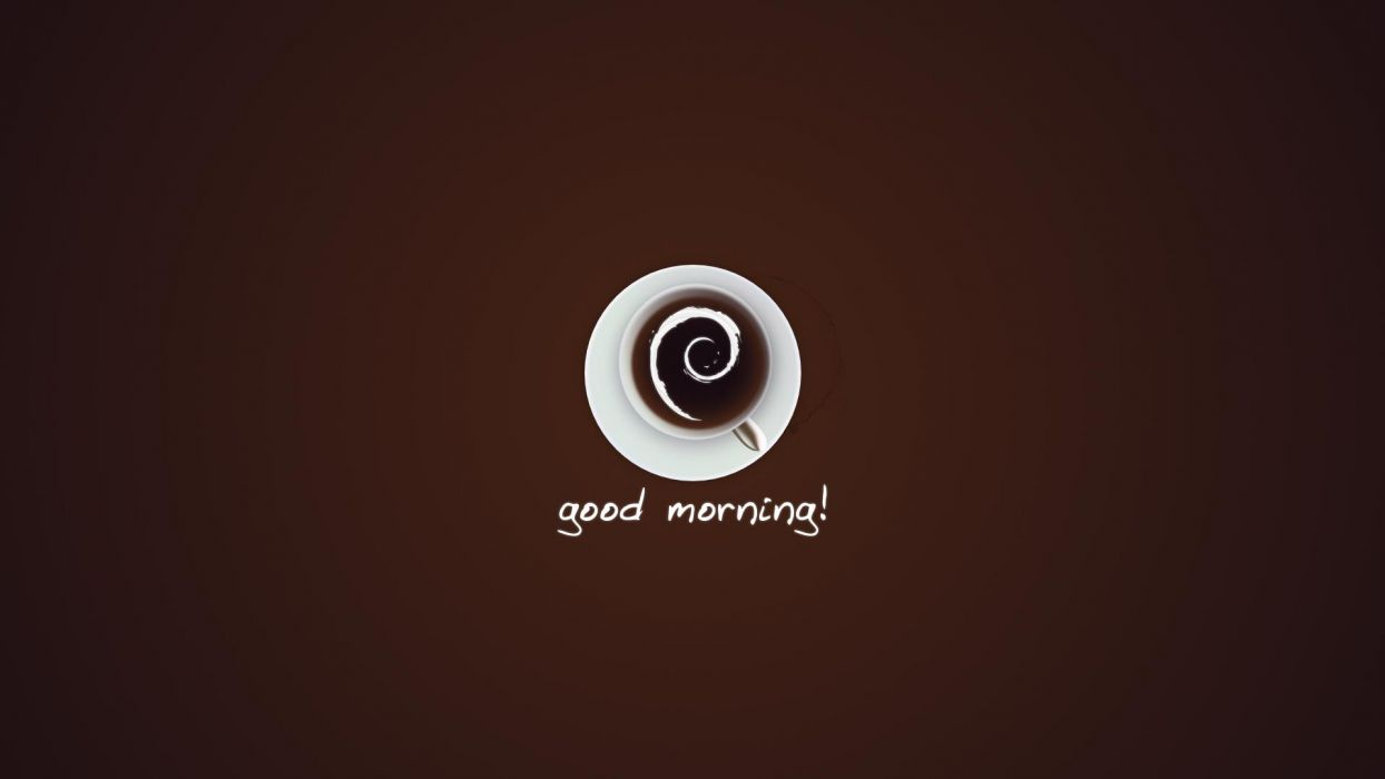 Good Morning coffee  s wallpaper