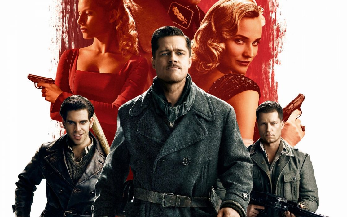 Inglourious Basterds Men Movies Celebrities wallpaper