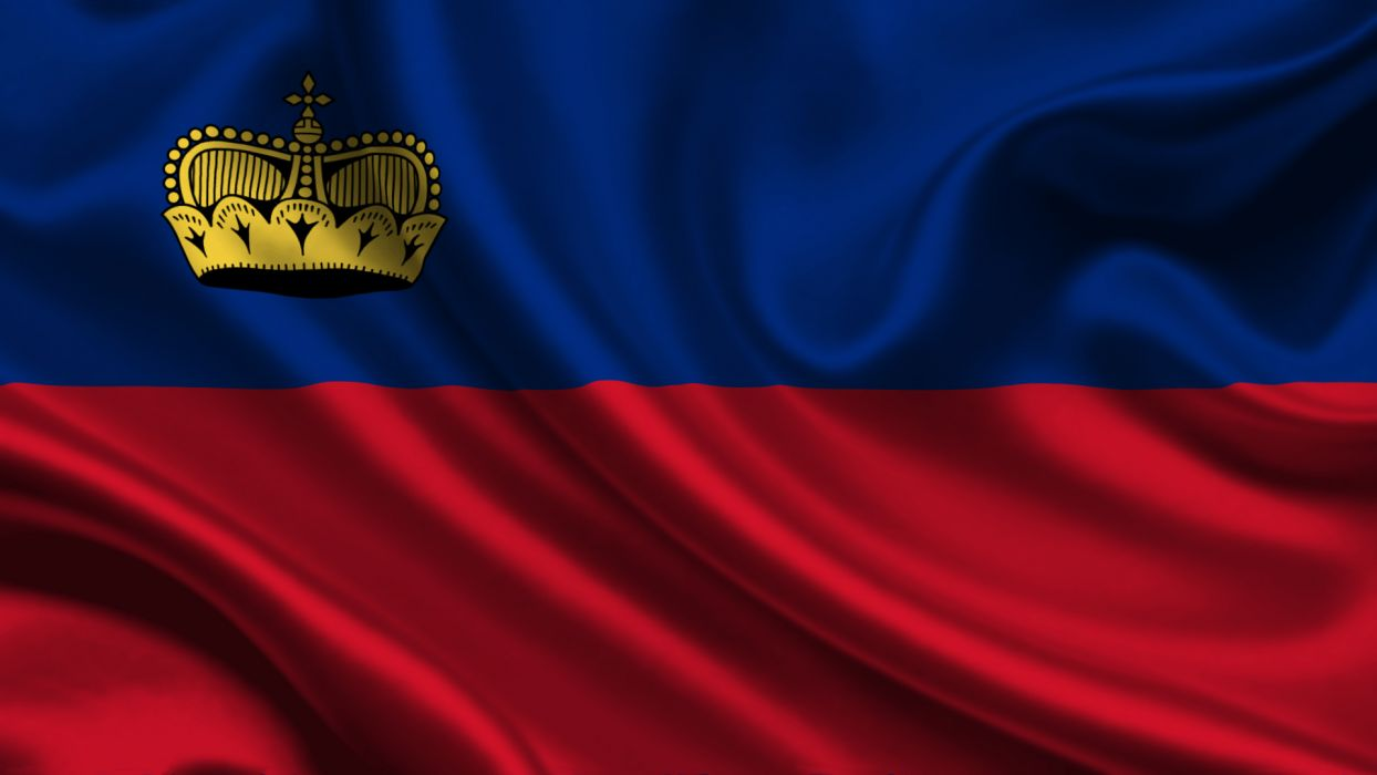 Liechtenstein Flag wallpaper