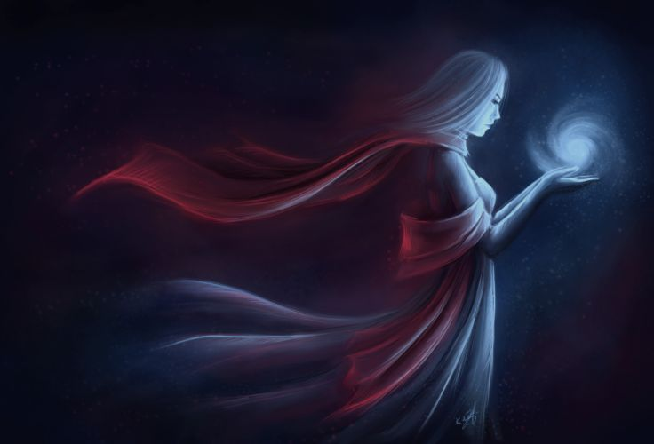Magic Fantasy Girls wallpaper
