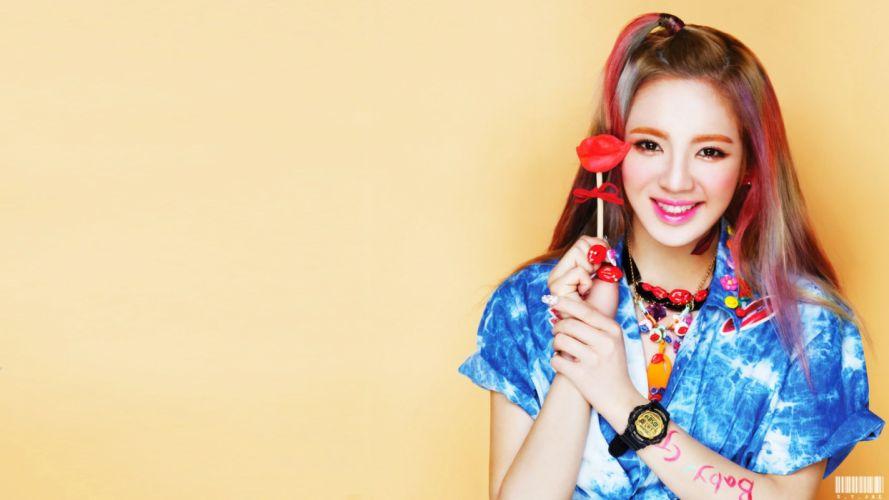 SNSD Hyoyeon 2013 d wallpaper