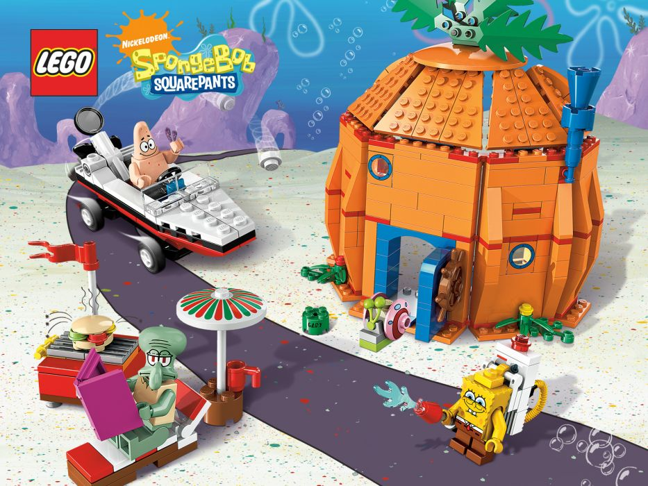 Spongebob Squarepants lego legos toy toys wallpaper
