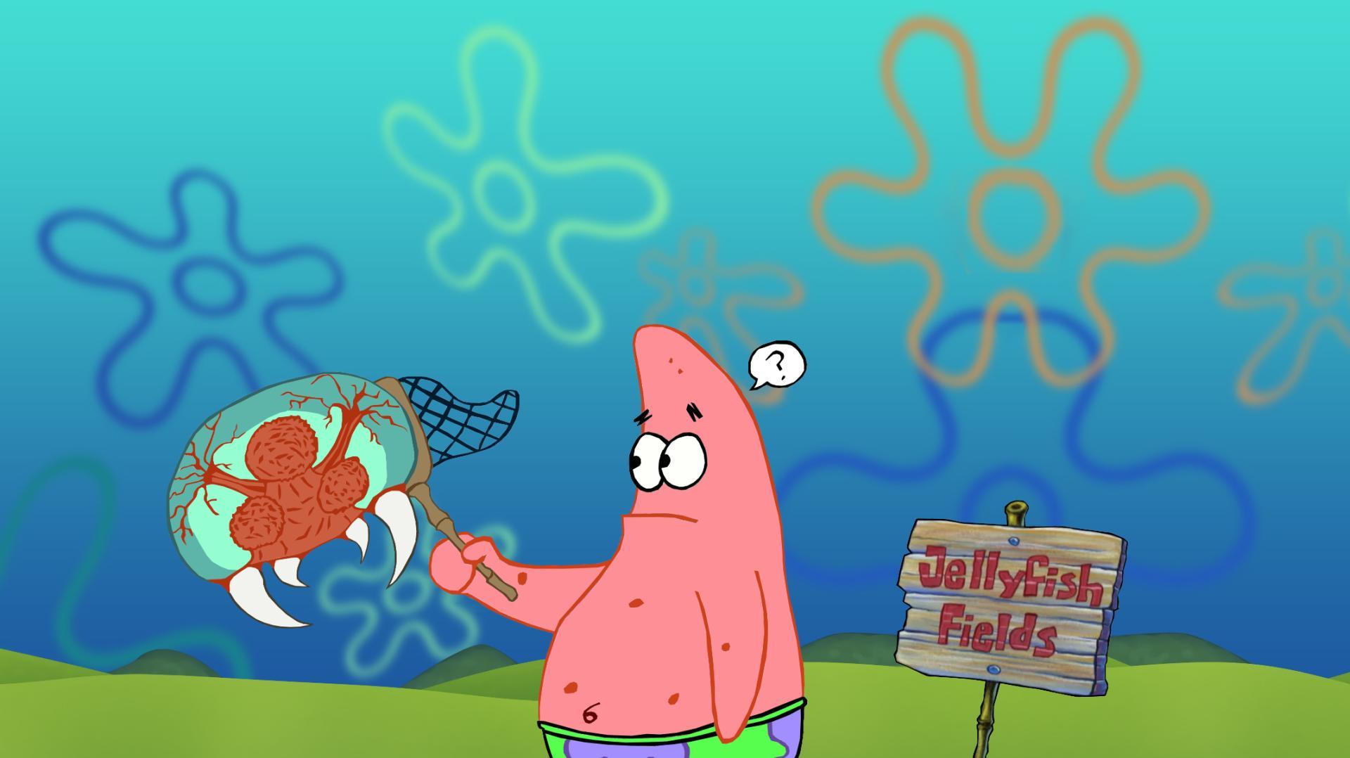 Spongebob Squarepants Patrick Metroid Wallpaper 1920x1078 98274
