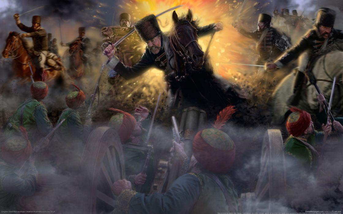 Total War Empire Warriors Sabre Games battle warrior wallpaper