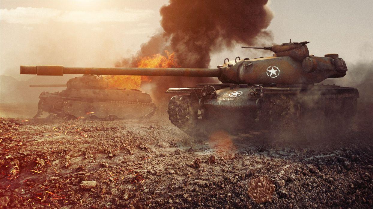 World of Tanks T110E5 Games military wallpaper