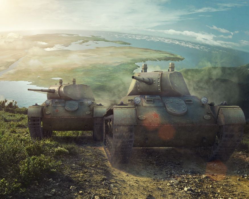 World of Tanks T-127 Games military wallpaper