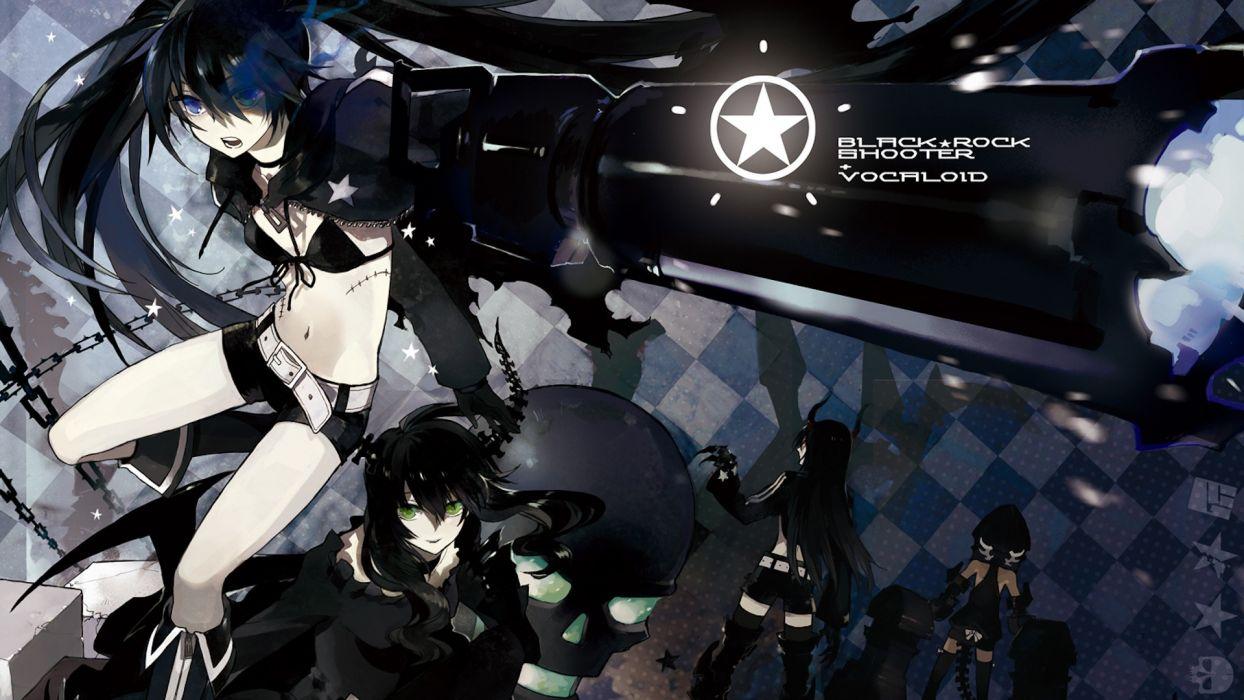 Black Rock Shooter Anime vocaloid wallpaper