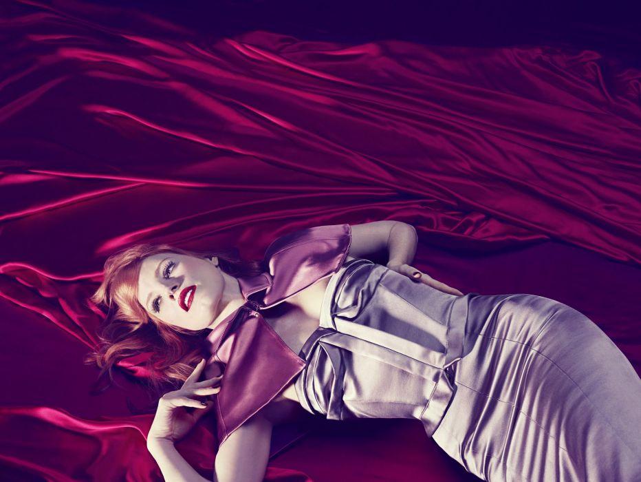 Jessica Chastain Dress Redhead actress women wallpaper