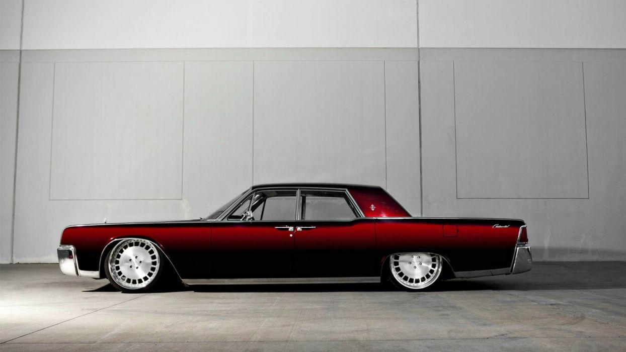 Lincoln Continental Classic Car Lowriders Lowrider Custom Wallpaper