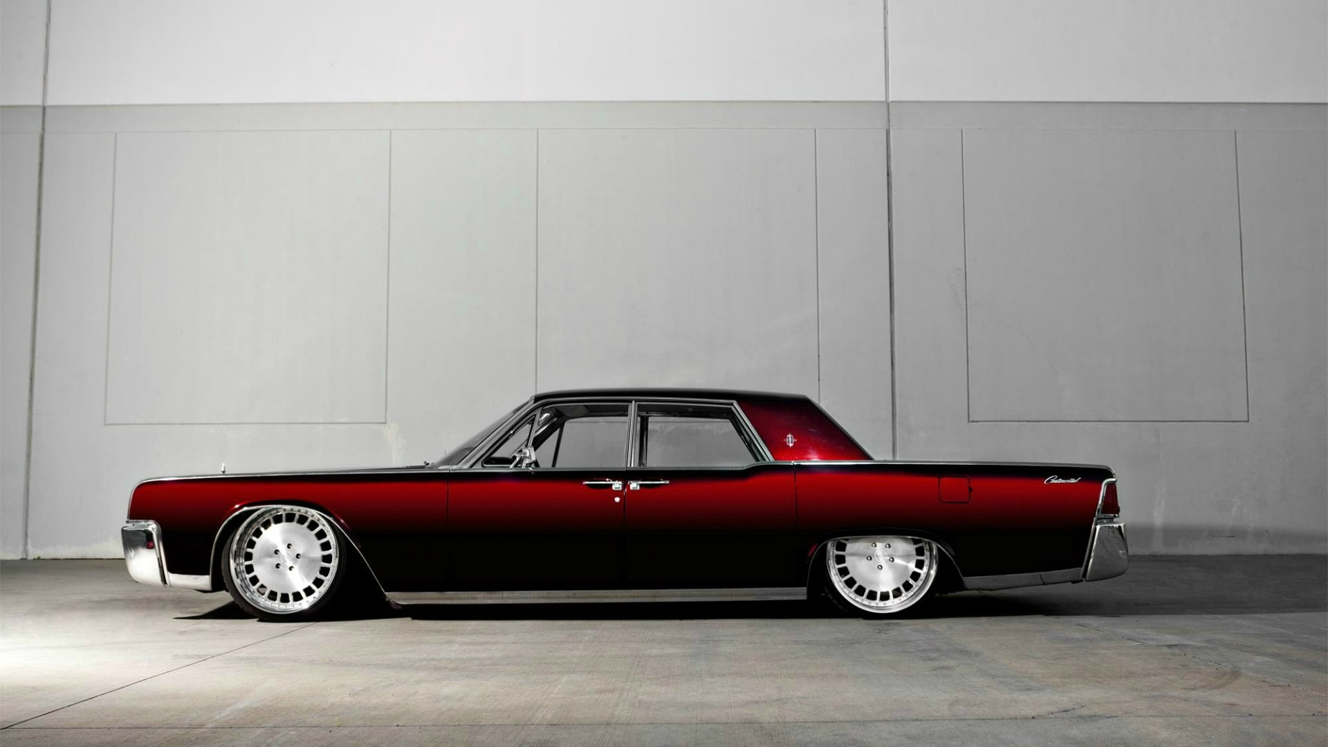 Lincoln Continental Classic Car Lowriders Lowrider Custom